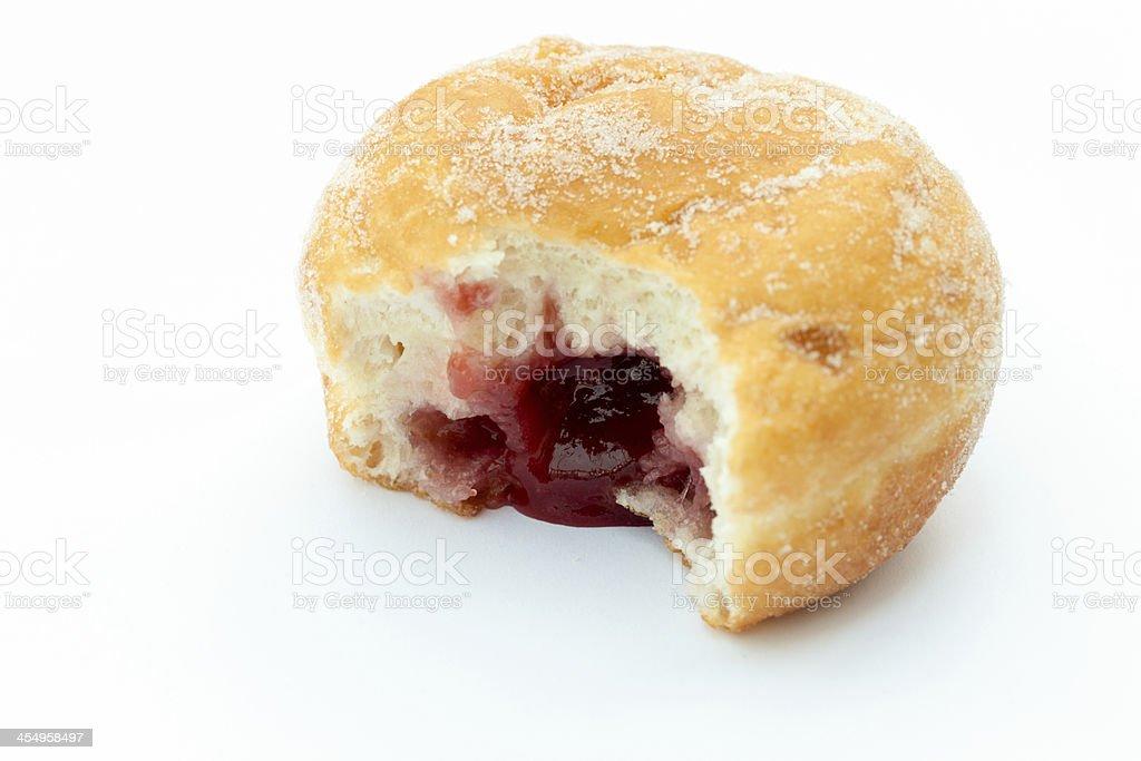 Jam donut stock photo