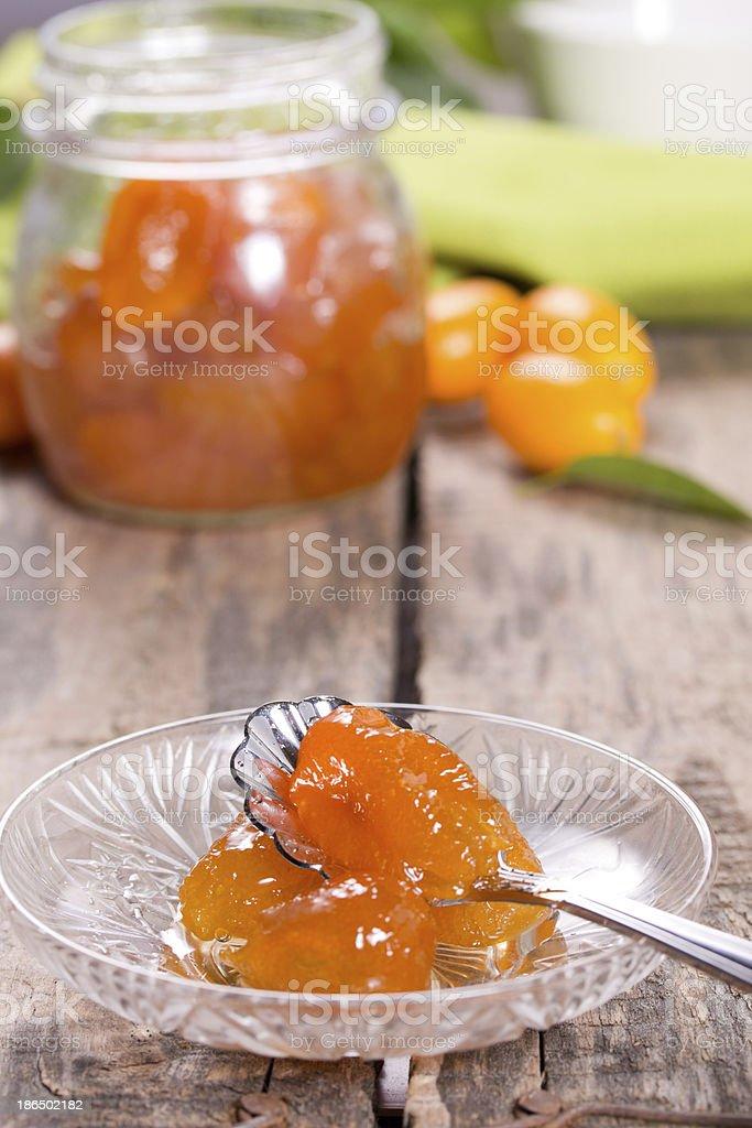 Jam of kumquat. royalty-free stock photo
