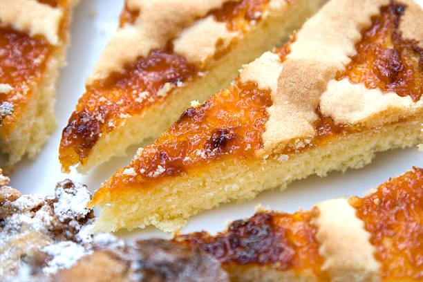 jam-tarte - crostata stock-fotos und bilder