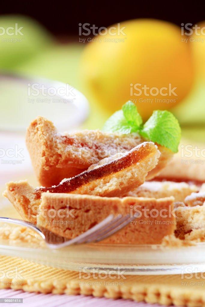 Jam tart royalty-free stock photo