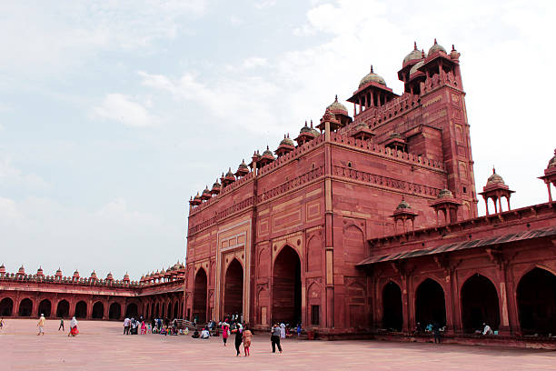 Jama Masjid, Agra Jama Masjid, Agra agra jama masjid mosque stock pictures, royalty-free photos & images