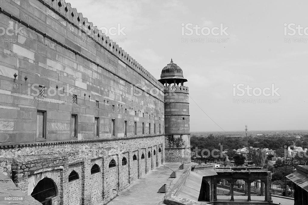 Jama Masjid, Agra stock photo