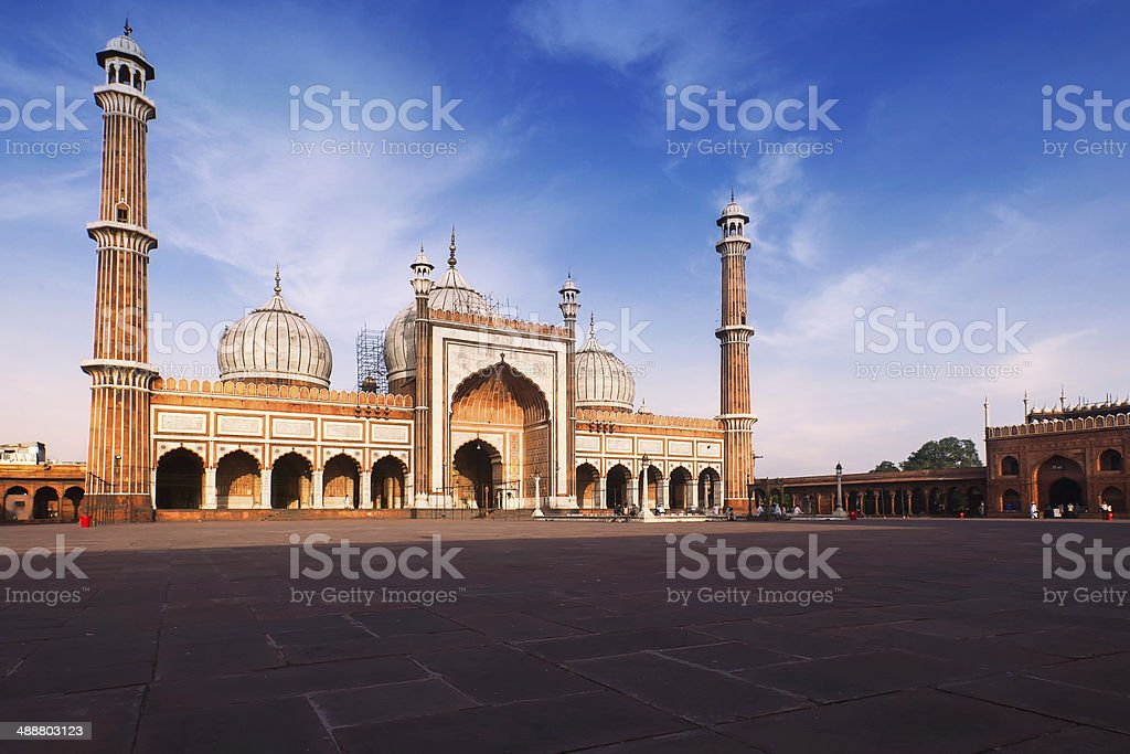 Jama Masjid, Delhi - Royalty-free Architecture Stock Photo