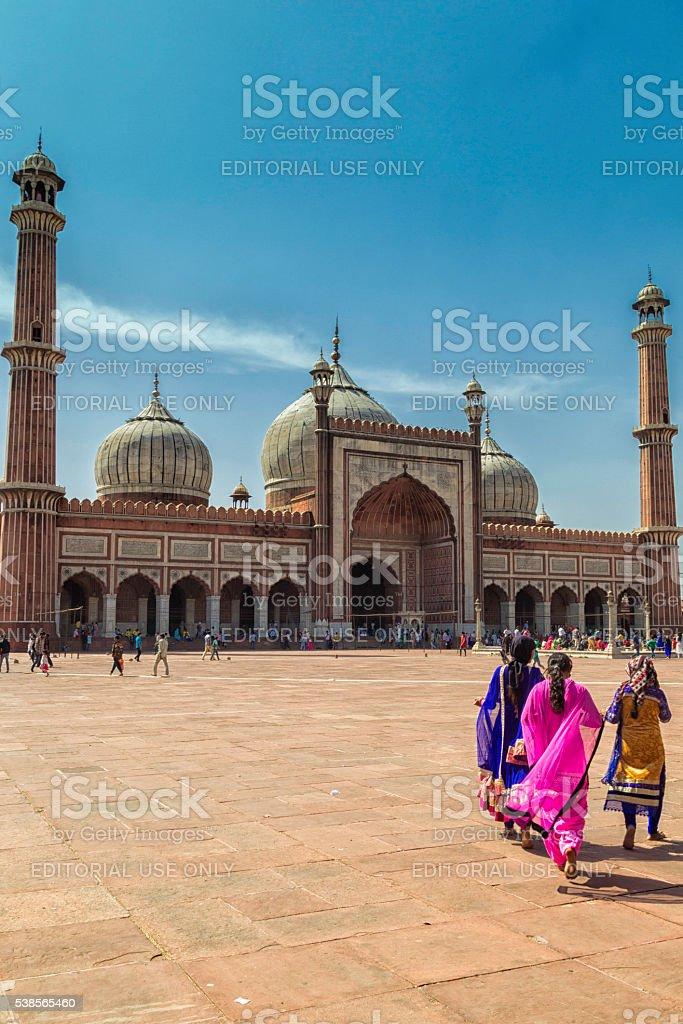Jama Masjid, Delhi stock photo