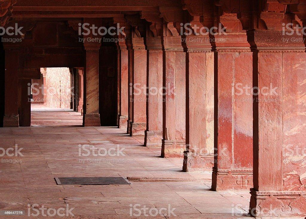 Jama Masjid, Fatehpur Sikri in Agra stock photo