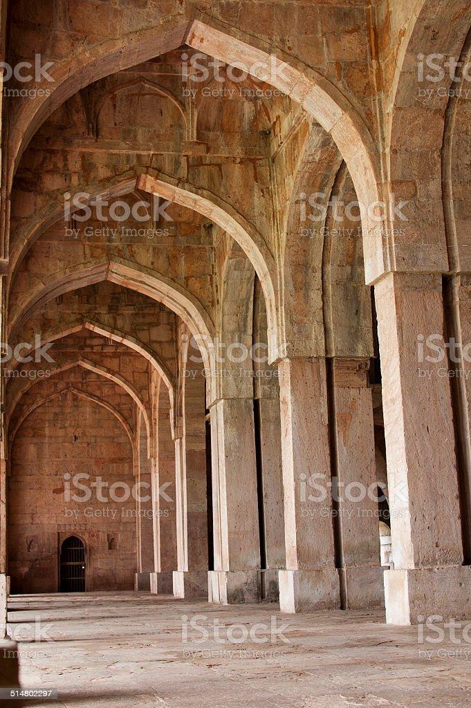 Jama Masjid, Mandu, Madhya Pradesh, India - Stock Image stock photo