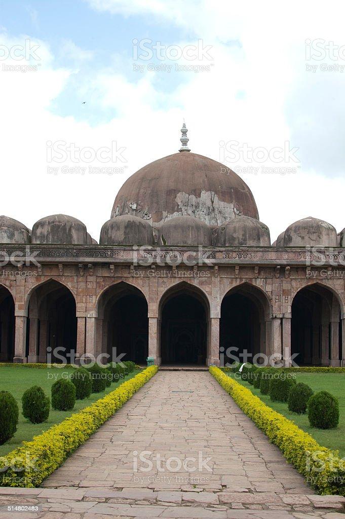 Jama Masjid, Mandu, Madhya Pradsesh, India - Stock Image stock photo