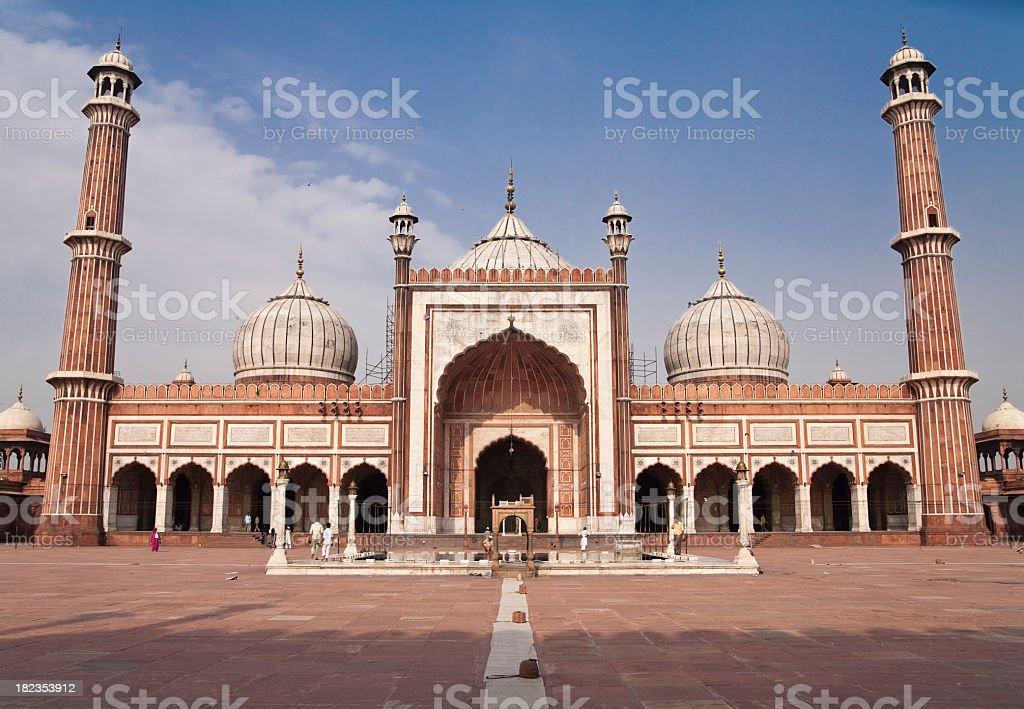 Jama Masjid Mosque, Delhi, India royalty-free stock photo