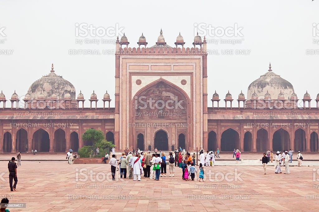 jama masjid mosque in fatehpur sikri stock photo