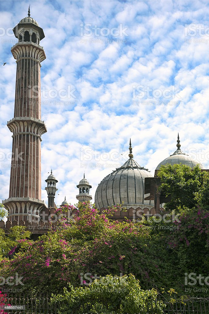 Jama Masjid Mosque stock photo