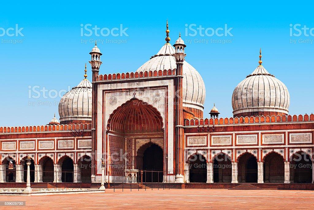 Jama Masjid stock photo