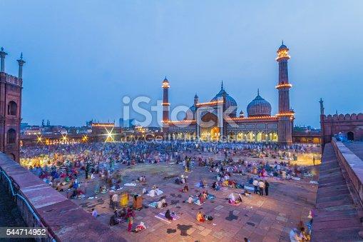 view of Jama Masjid on Eid 2015