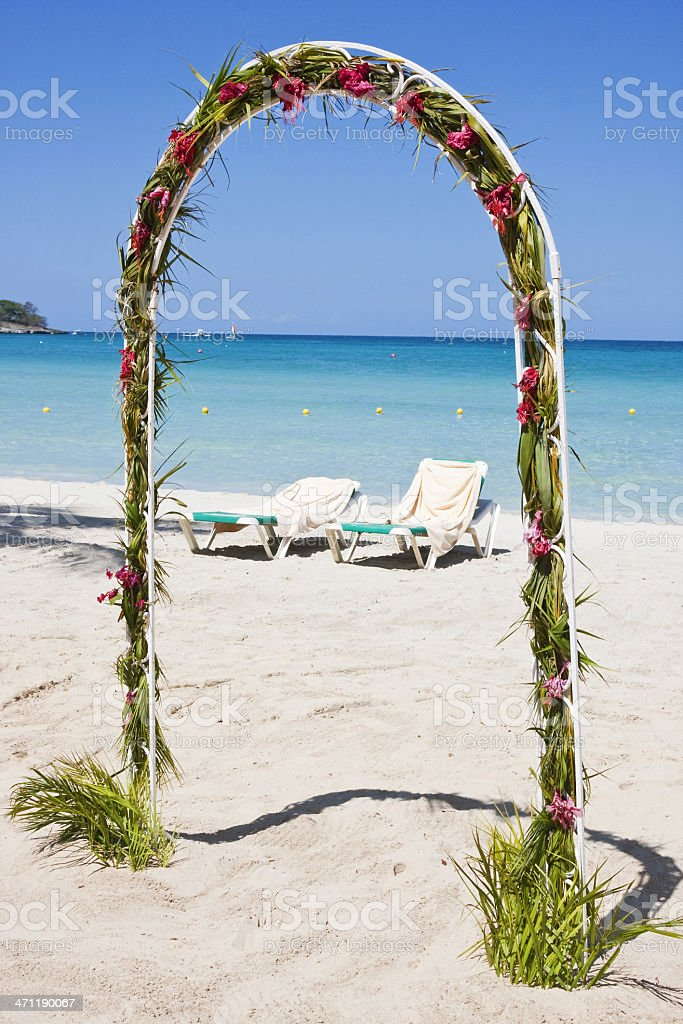 Jamaica beach # 5 XL royalty-free stock photo