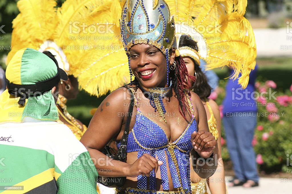 Jamaica Festival and Parade in Chicago royalty-free stock photo