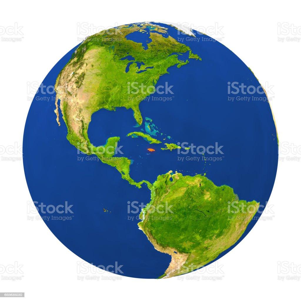 Fotografa de jamaica puso de relieve en la tierra y ms banco de jamaica puso de relieve en la tierra foto de stock libre de derechos gumiabroncs Images