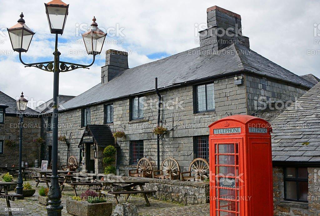 Jamaica Inn, Cornwall, England stock photo