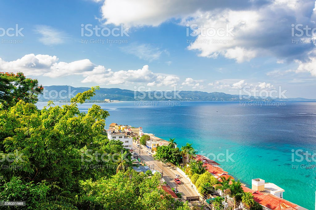 Jamaica island, Montego Bay stock photo