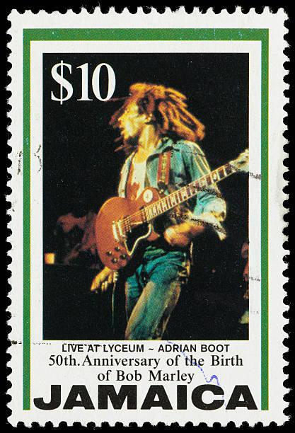 Jamaika Live im Lyceum Bob Marley Briefmarke – Foto