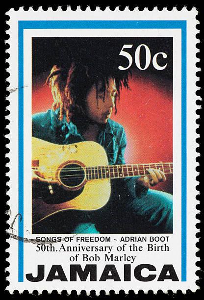 Jamaica Songs der Freiheit Bob Marley Briefmarke – Foto
