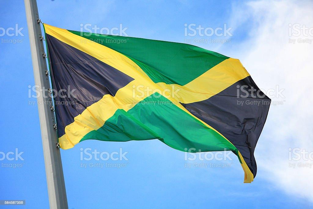 Bandeira Jamaicana - foto de acervo