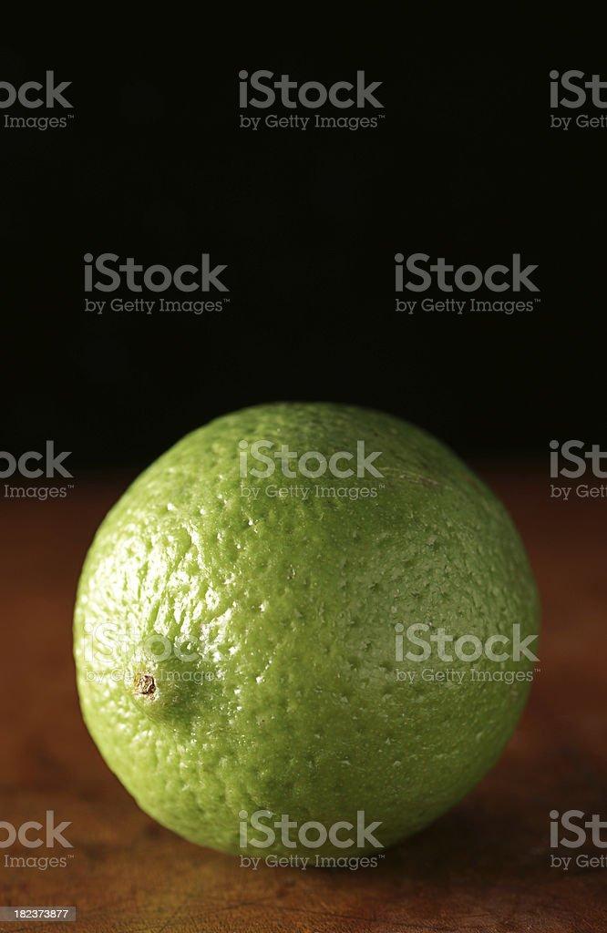 Jamaikanische Lime Porträt Lizenzfreies stock-foto
