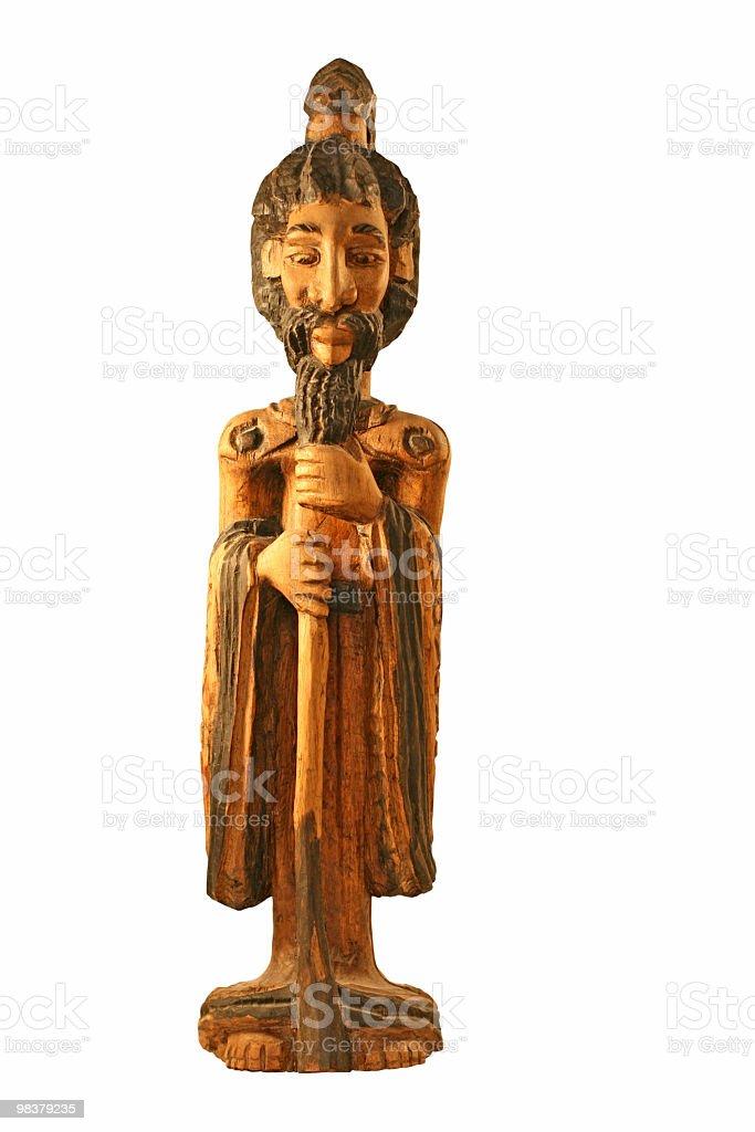 Jamaican legno Intagliare foto stock royalty-free