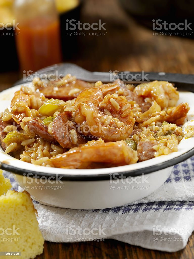 Jambalaya royalty-free stock photo