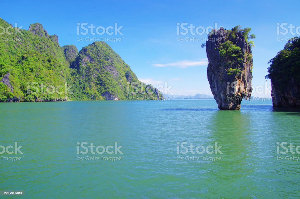 james bond island photo libre de droits