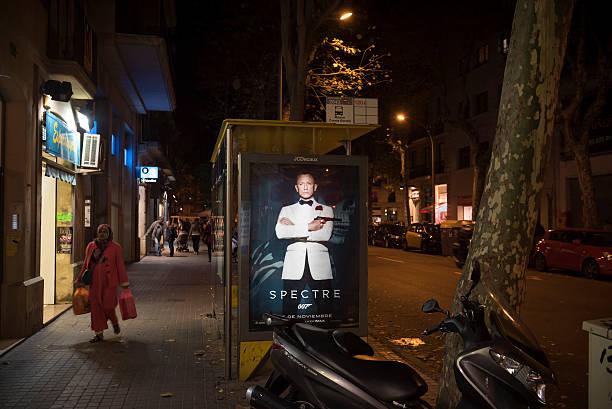 Film de James Bond Spectre promue à Barcelone, en Espagne - Photo