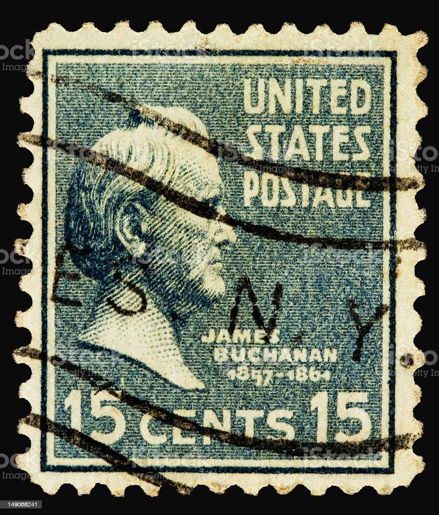 James Buchanan 1938 stock photo