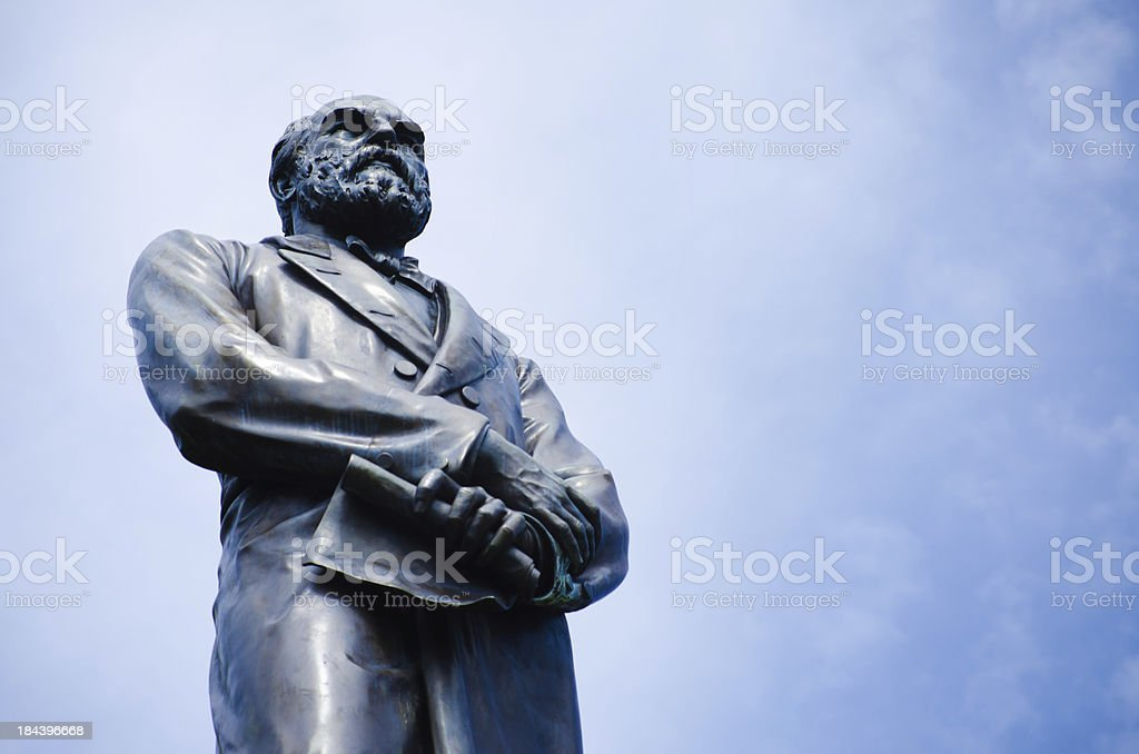 James Garfield statue at Golden Gate Park in San Francisco