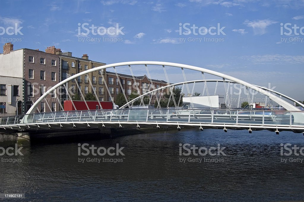 James Joyce Bridge stock photo
