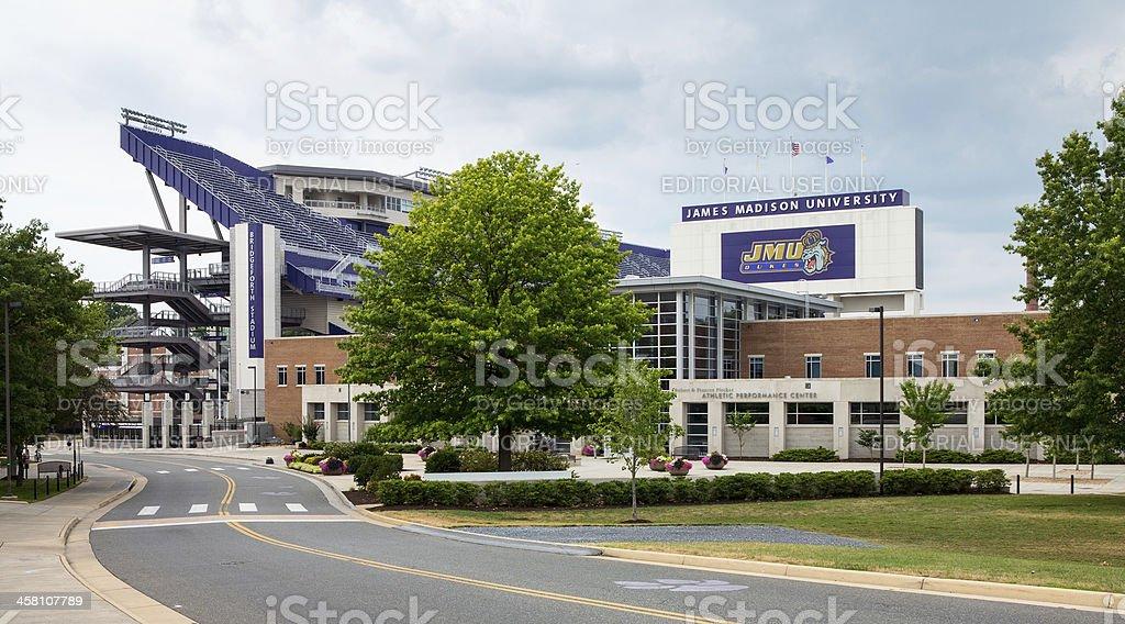 James Madison University Harrisonburg VA royalty-free stock photo