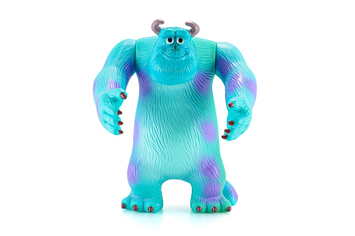 James P Sullivan Sulley Figure Toy Character From Monsters Inc Stock Photo - Download Image Now