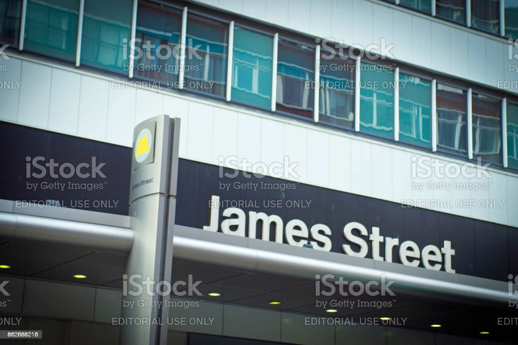James Street  Liverpool stock photo