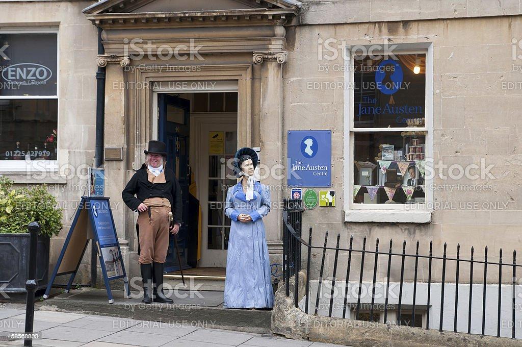Jane Austen's centre stock photo