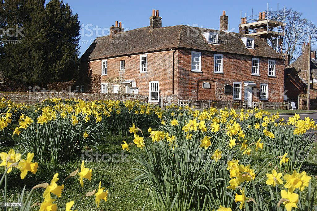 Jane Austen's House, Chawton, Hampshire royalty-free stock photo