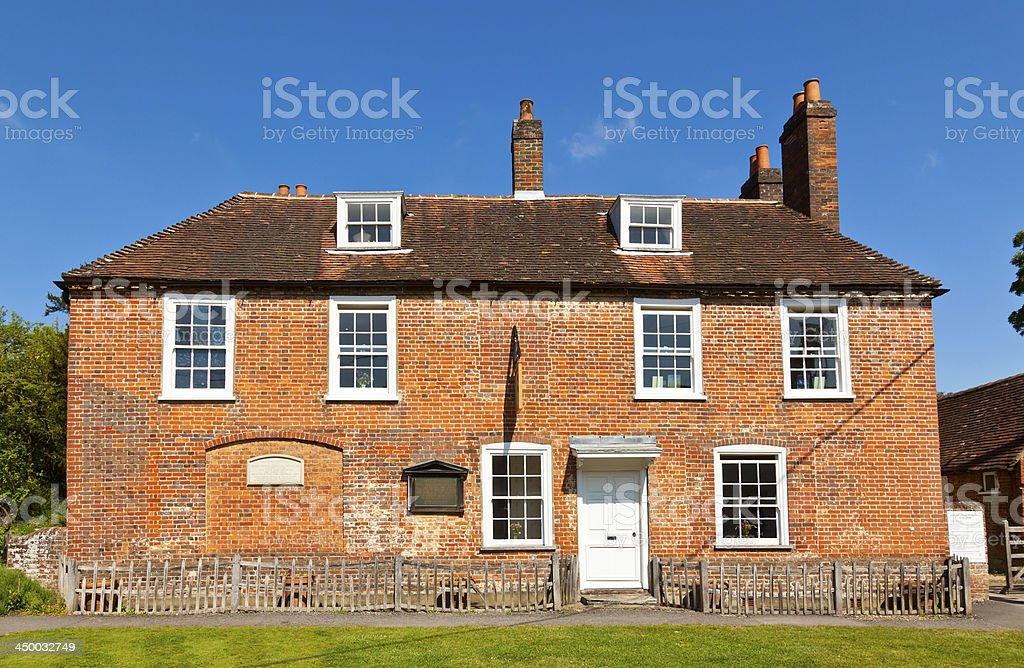 Jane Austens House stock photo