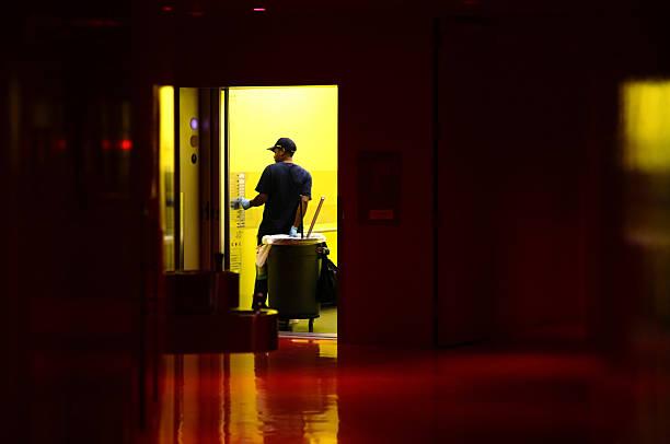 janitor - hausmeister stock-fotos und bilder