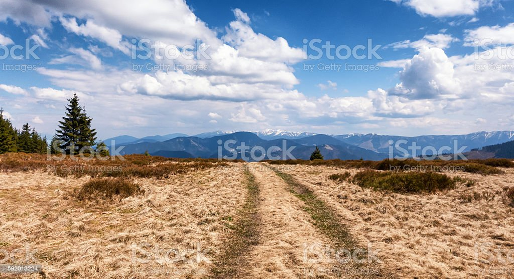 Janosikova kolaren - national reservation, Slovakia stock photo