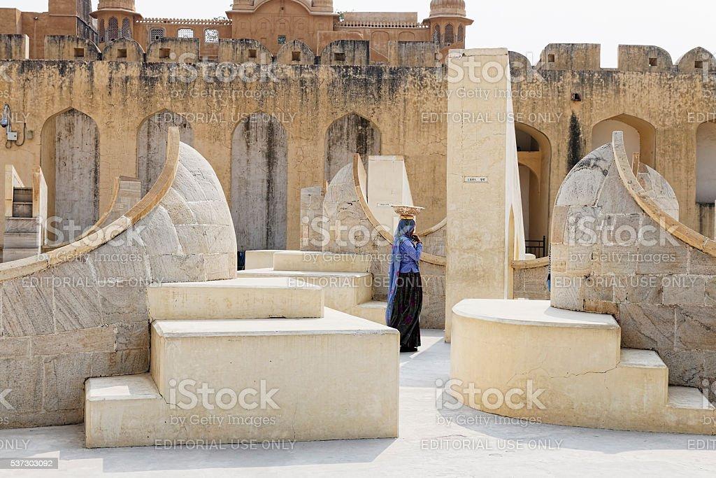 Jantar Mantar, Jaipur stock photo