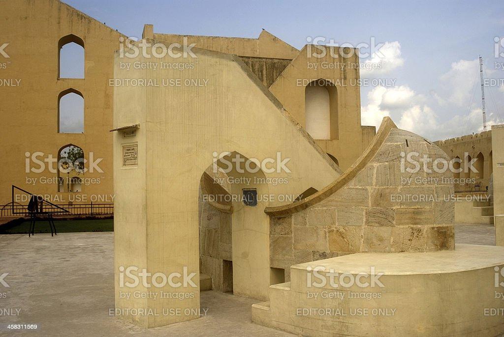 Jantar Mantar, Jaipur, Rajasthan, India royalty-free stock photo