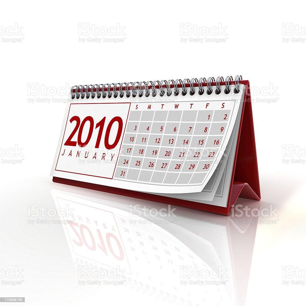 january 2010 royalty-free stock photo