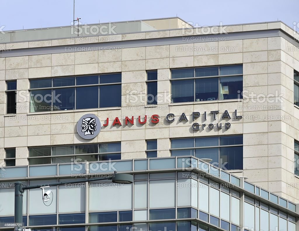 Janus Capital Group, Denver stock photo