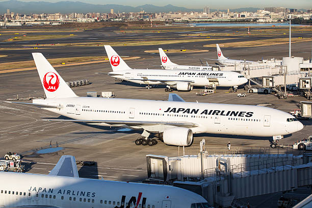 Japan Airlines JAL stock photo