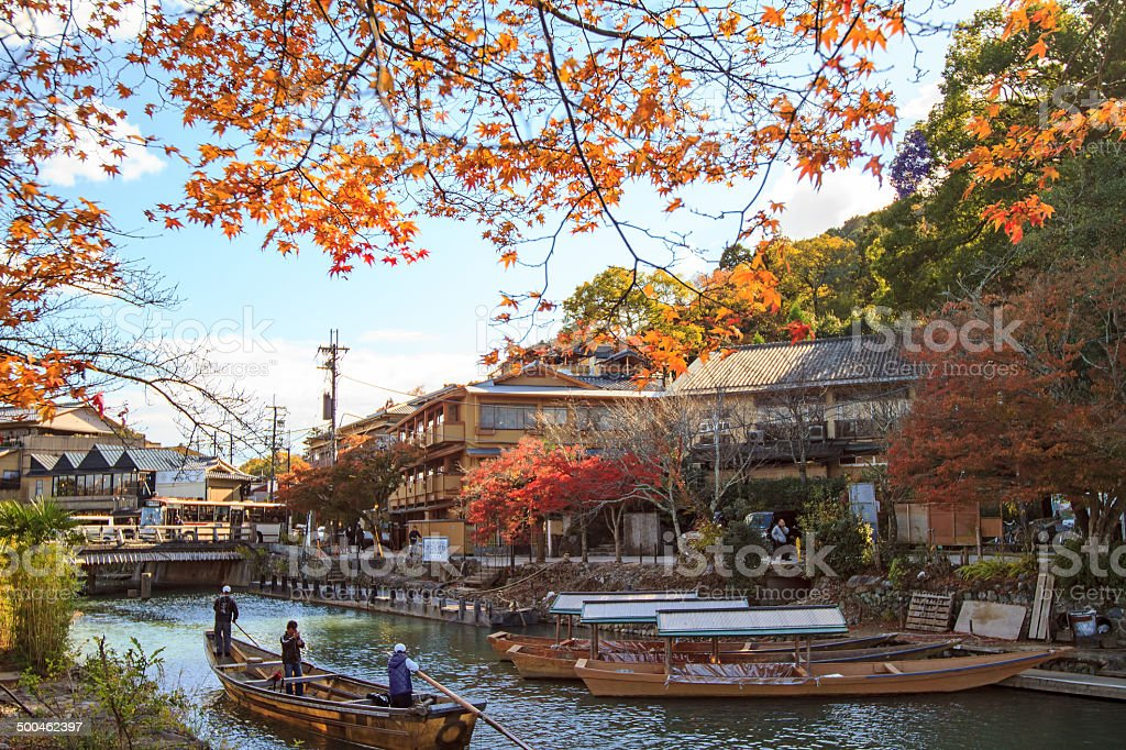 Japan. Arashiyama stock photo