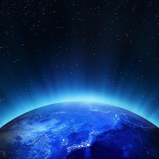 日本シティライツ - 地球 日本 ストックフォトと画像