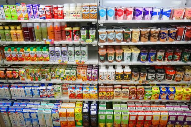 日本のコンビニエンス ストア - スーパーマーケット 日本 ストックフォトと画像