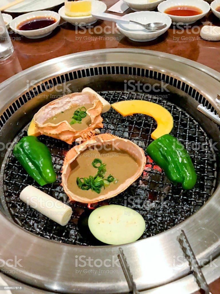 Japan Crab royalty-free stock photo