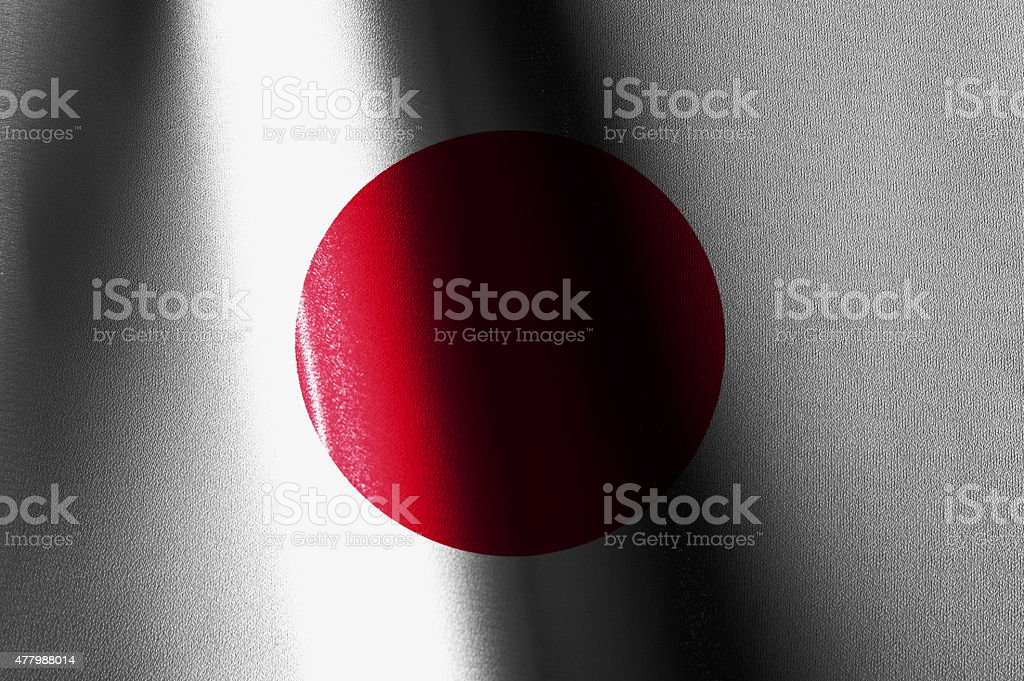 Japan Flags Images royalty-free stock photo